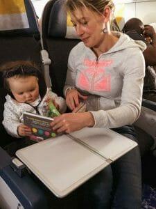 siège bébé avion