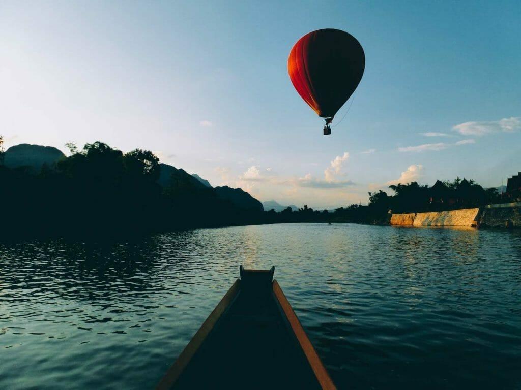 Laos pirogue