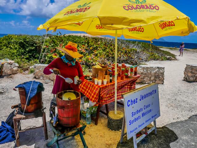 sorbet coco guadeloupe