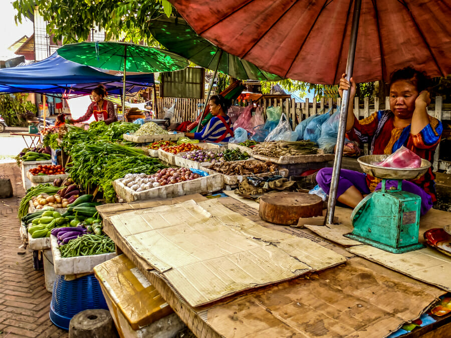 street food laos