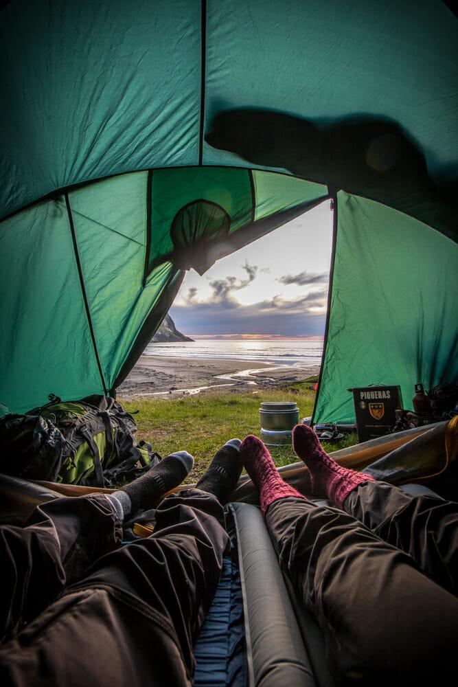 dormir en tente