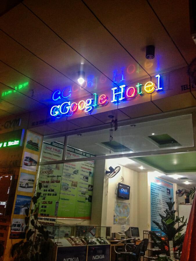 google hotel vietnam