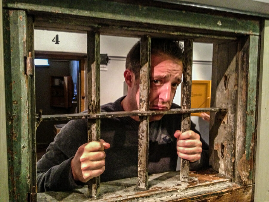 hotel prison suede