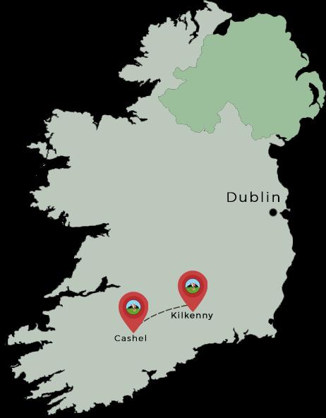 carte irlande kilkenny