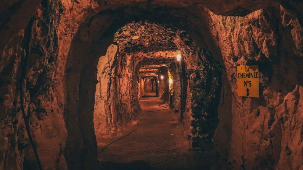 cité souterraine naours