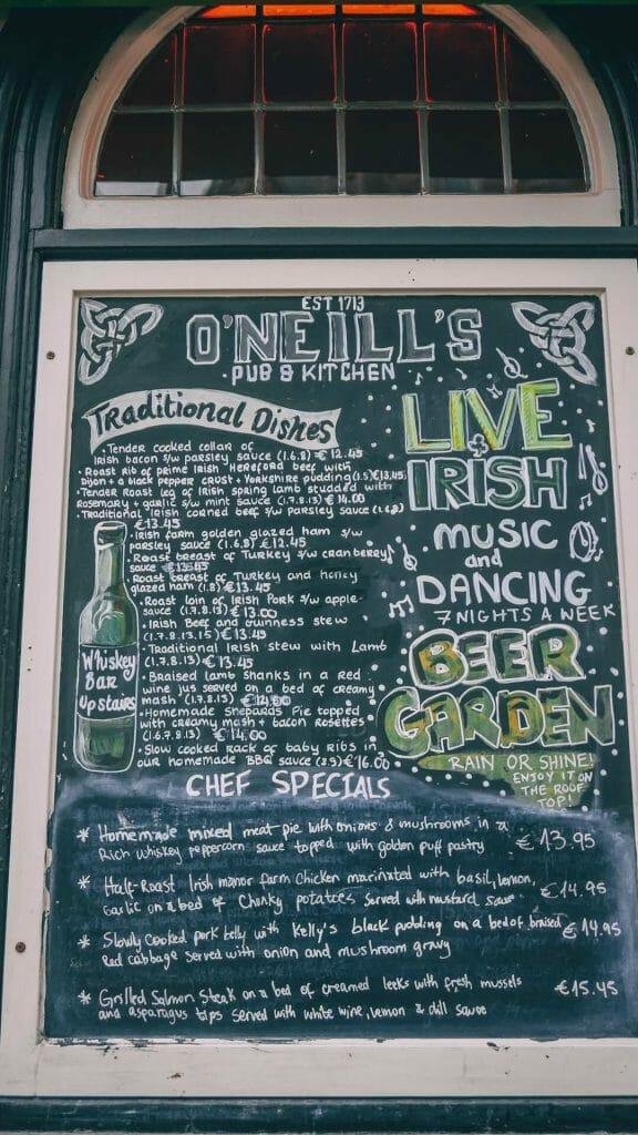 dublin pub street