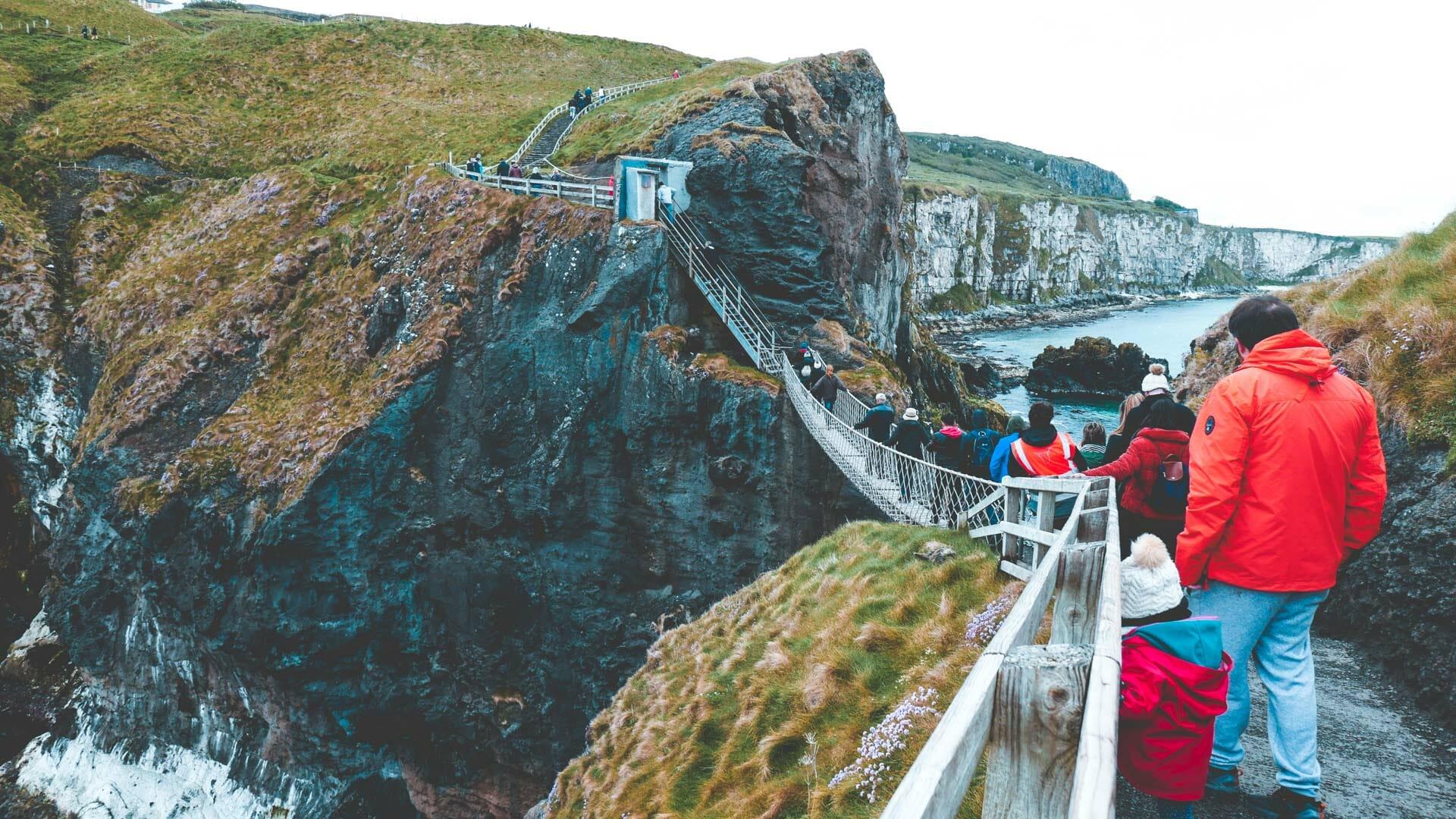 le Pont de corde de Carrick-a-rede