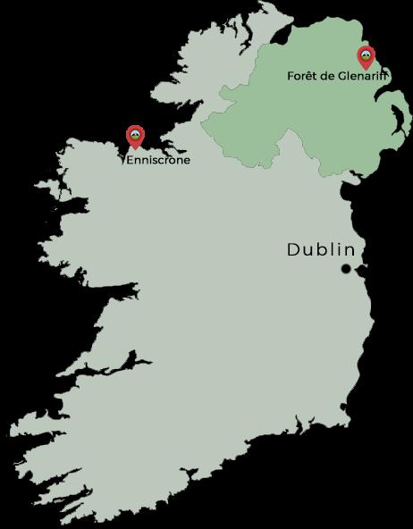 carte irlande du nord