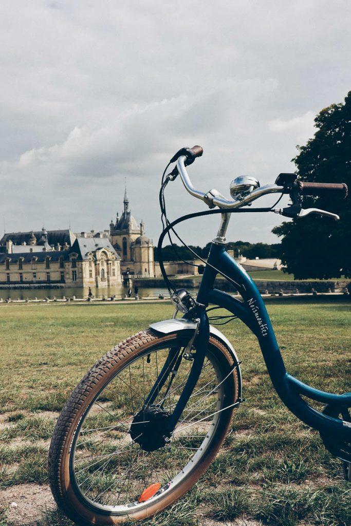 Week end à Chantilly en vélo