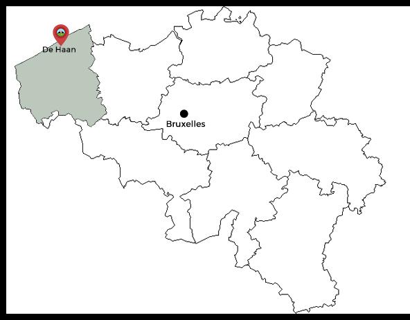 carte de haan belgique