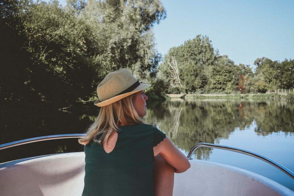 Vallée de la Somme en bateau