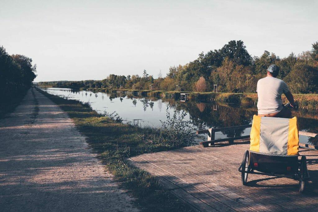 chemin du halage vélo nos coeurs voyageurs