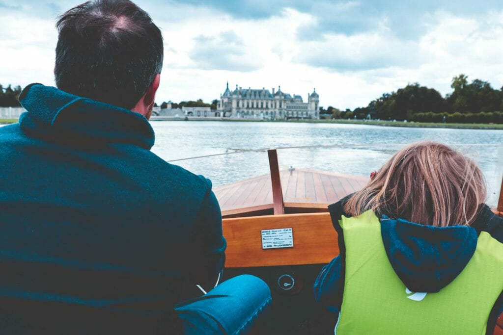 bateau chateau chantilly
