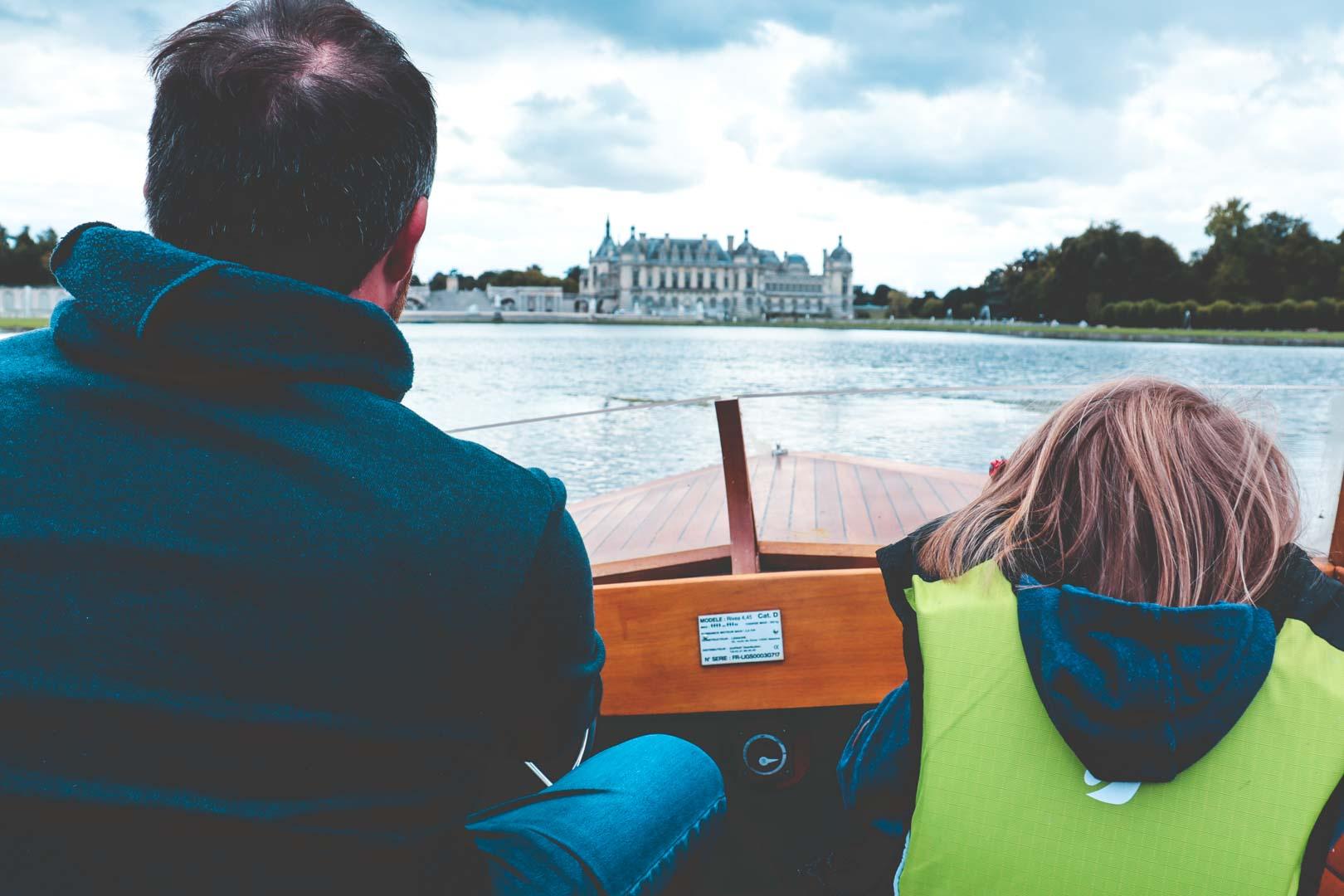chateau chantilly bateau