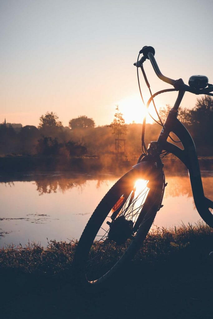 lever soleil marais des cavins