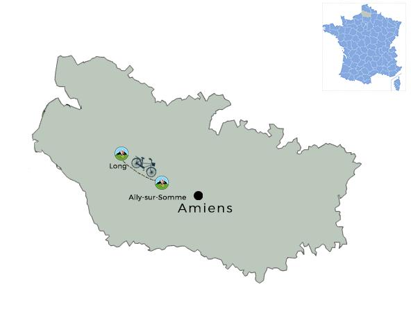 carte la Vallée de la Somme