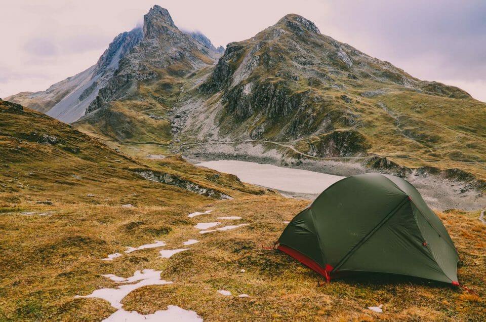 Randonnée et bivouac au Lac des Cerces