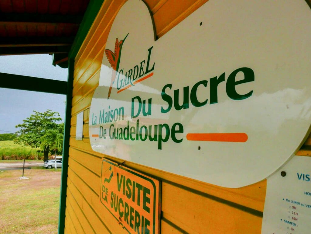 gardel sucre guadeloupe