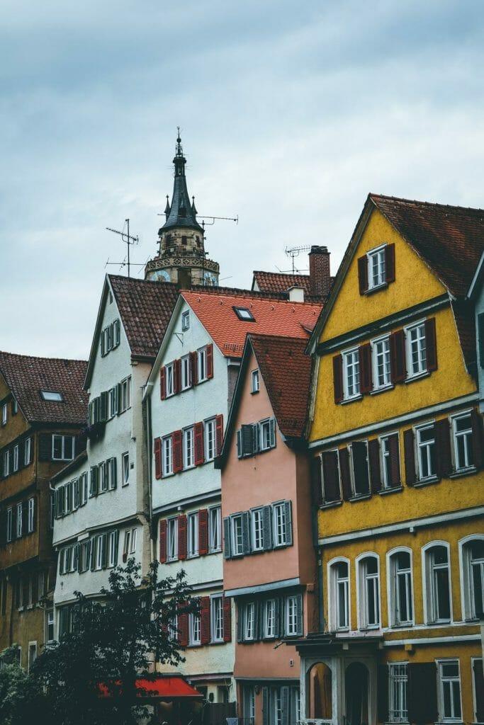 maisons colorées Tubingen