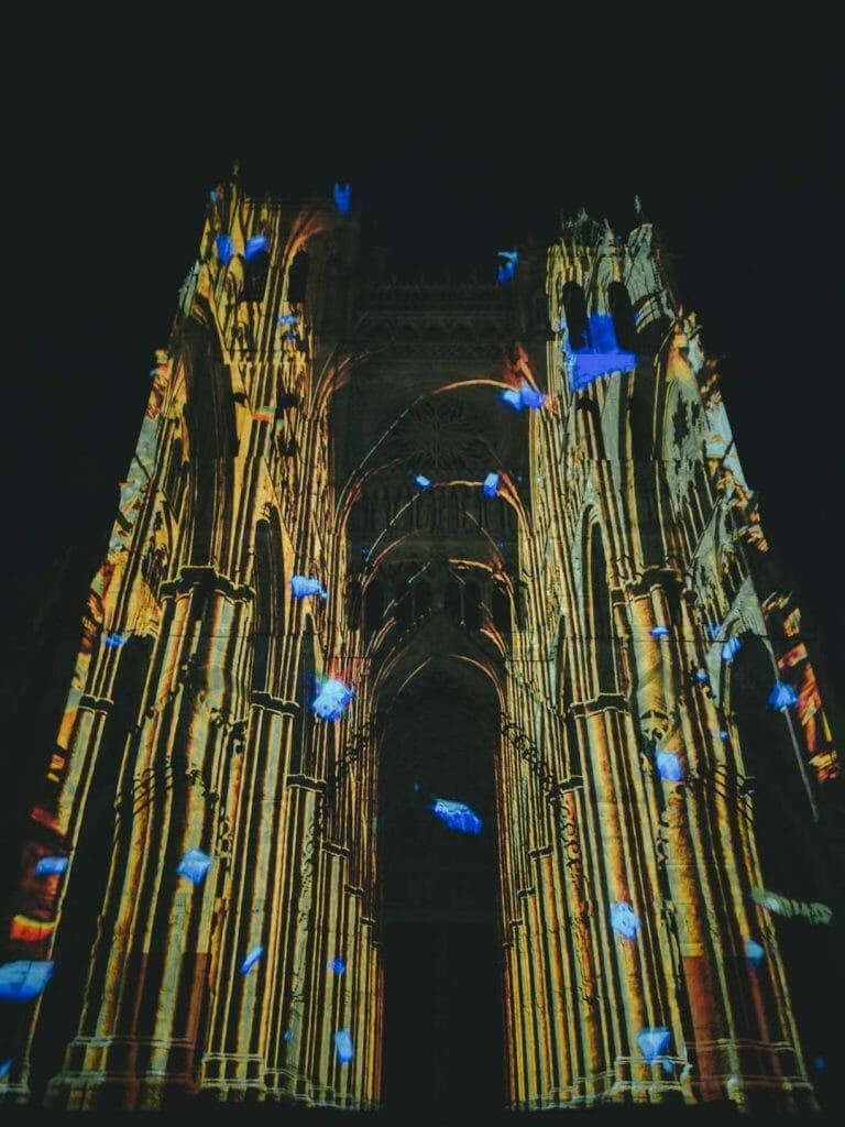 spectacle chroma cathédrale amiens