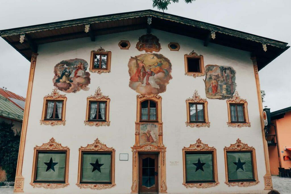 village d'Oberammergau