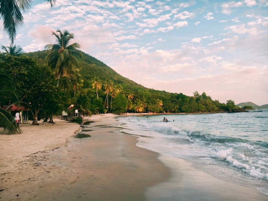 plage de pointe Marin