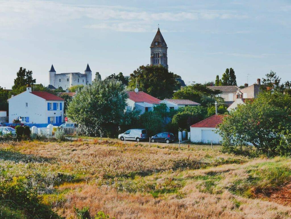 église et chateau noirmoutier