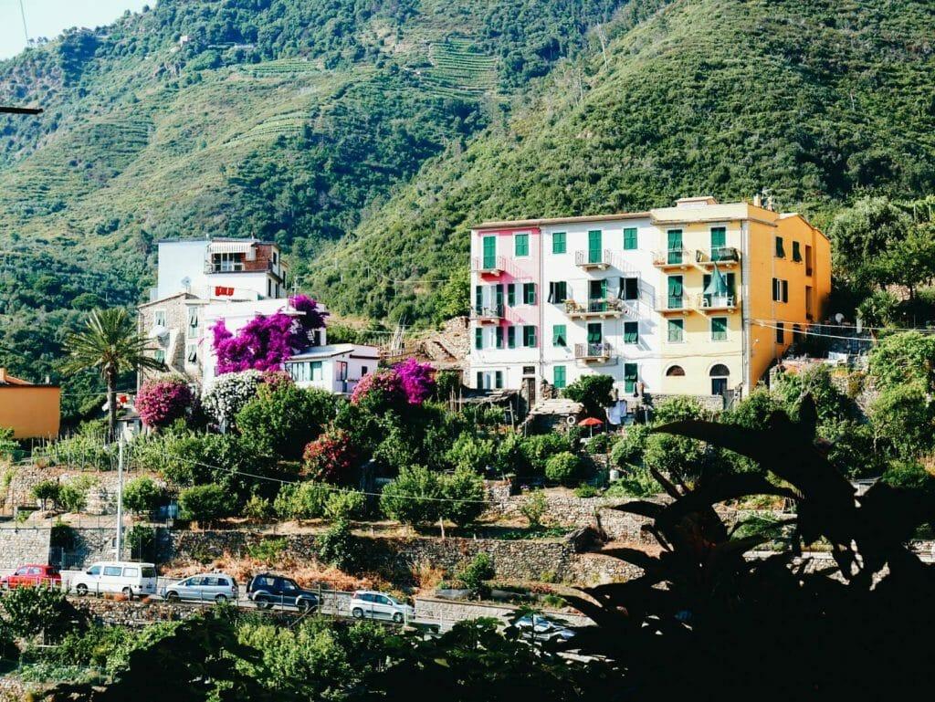 vue du haut Corniglia