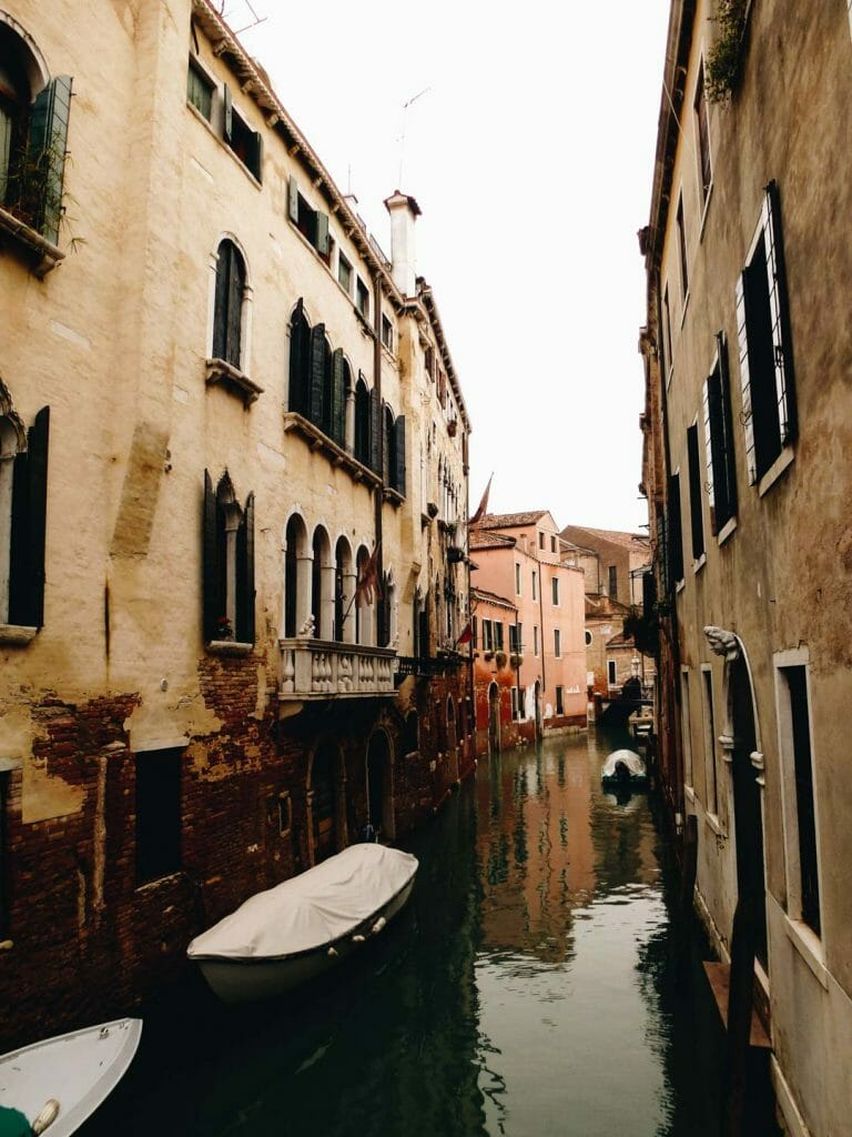 canal hiver venise