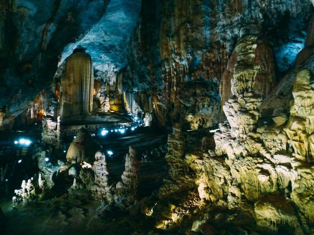 la grotte de Phong Nha vietnam