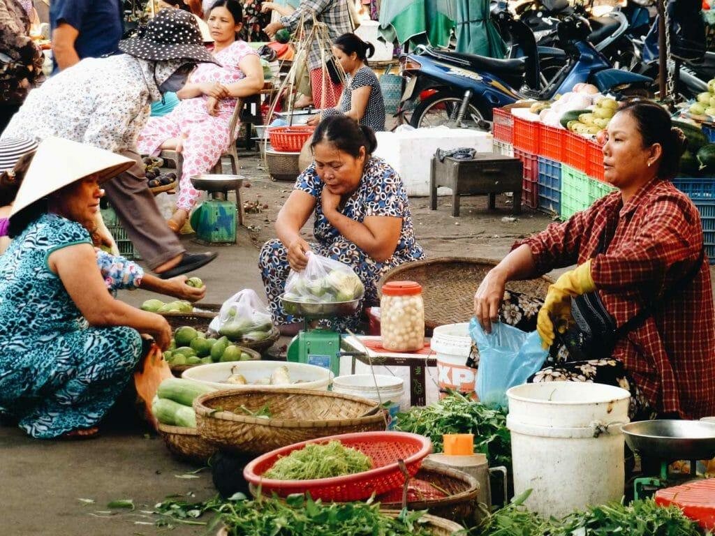 marché vietnam