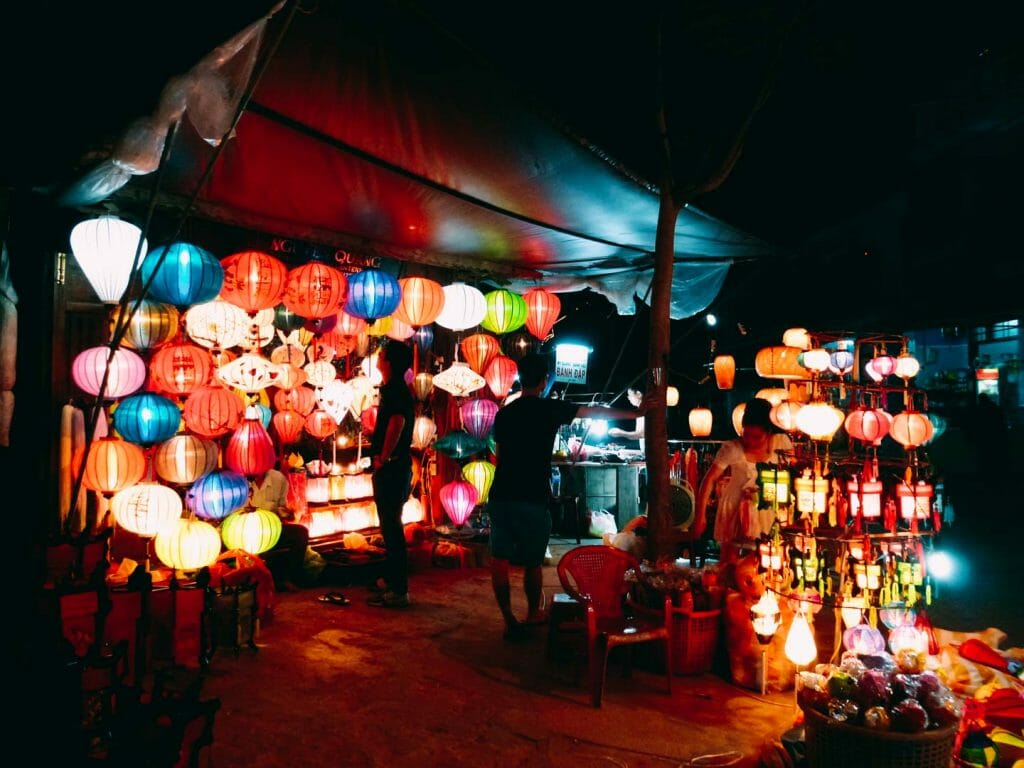 lanterne hoi an vietnam