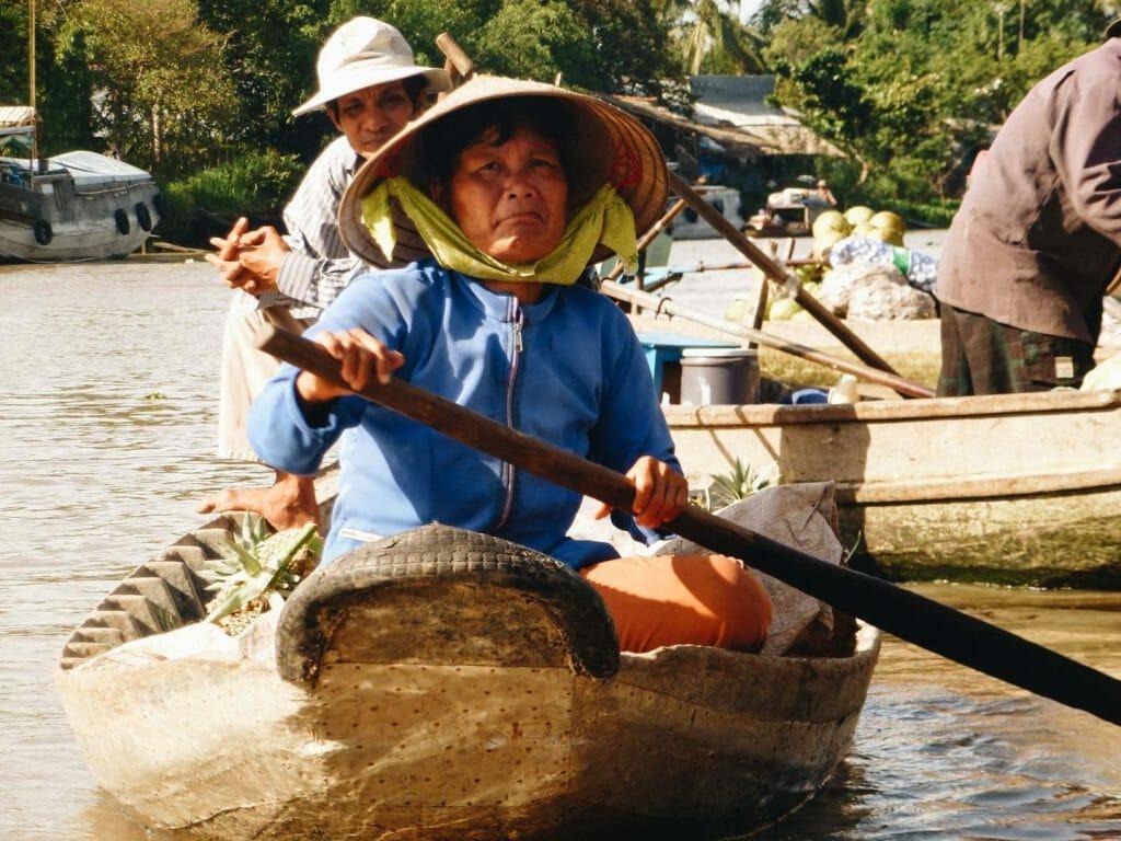 balade dans le delta du mékong