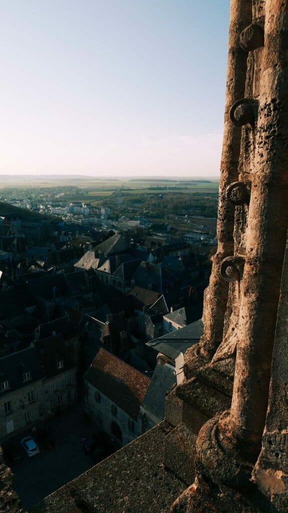 Hauteur cathédrale Laon