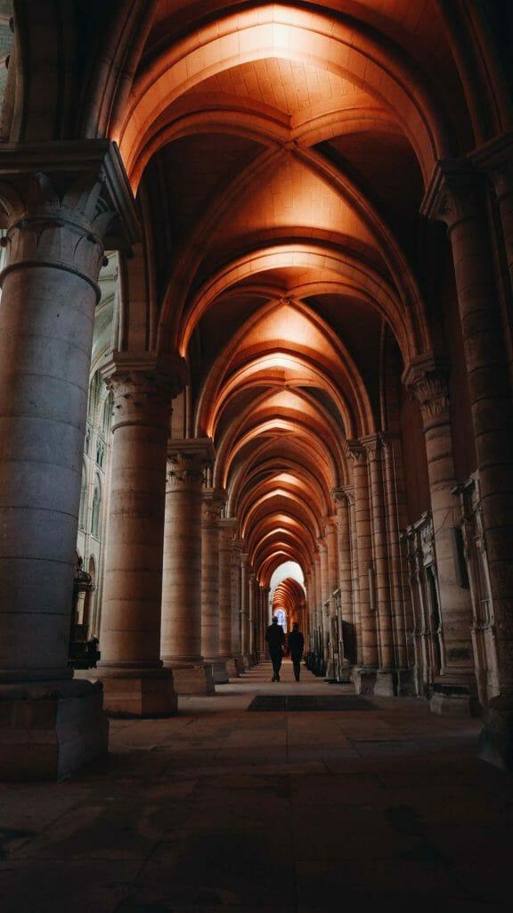 Intérieur cathédrale Laon
