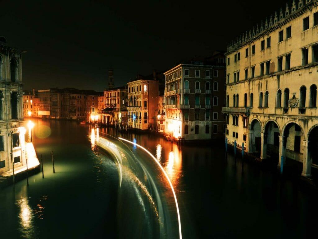 Canal Venise nuit