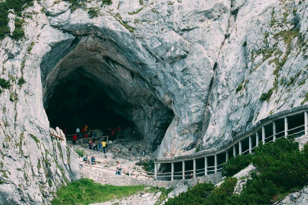 entrée grotte Eisriesenwelt