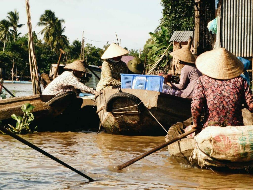 marché delta mekong vietnam