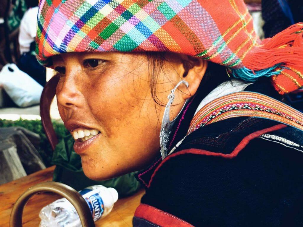 femme rizière