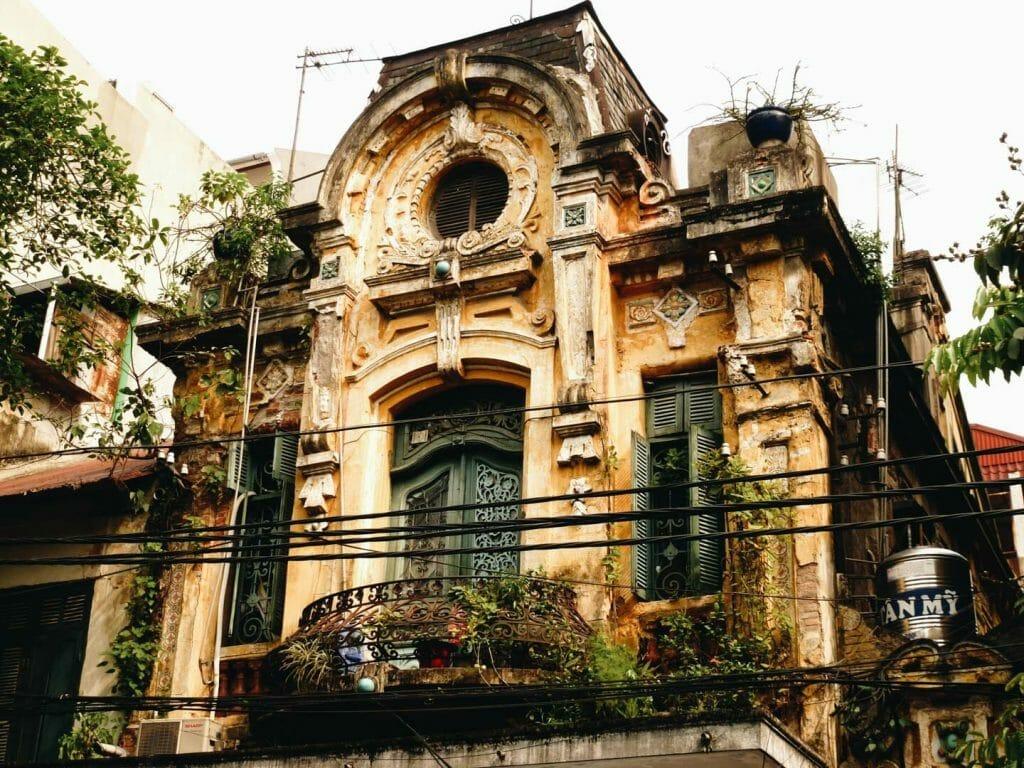 vieille maison hanoi
