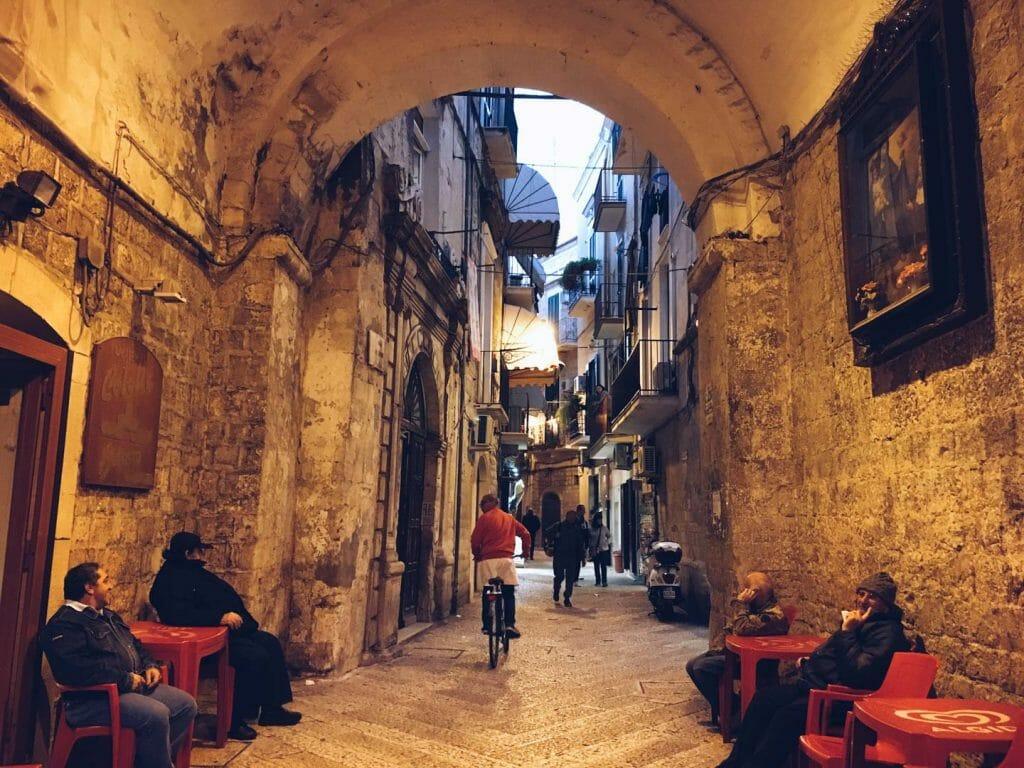 vieille ville Barivecchia Bari