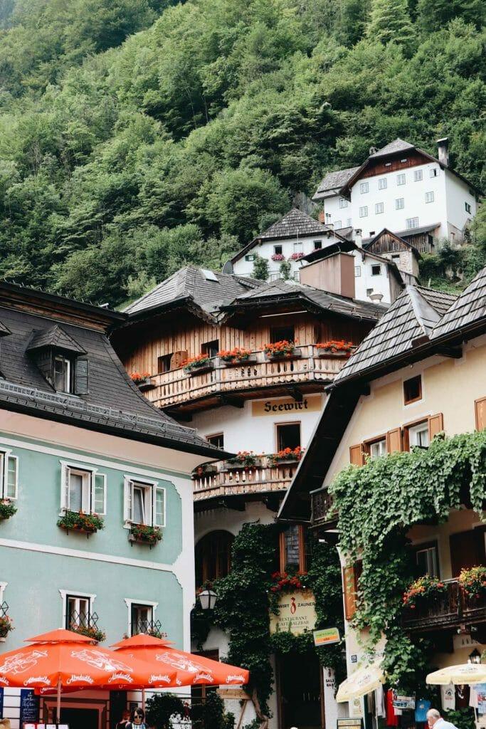 maison village d'Hallstatt