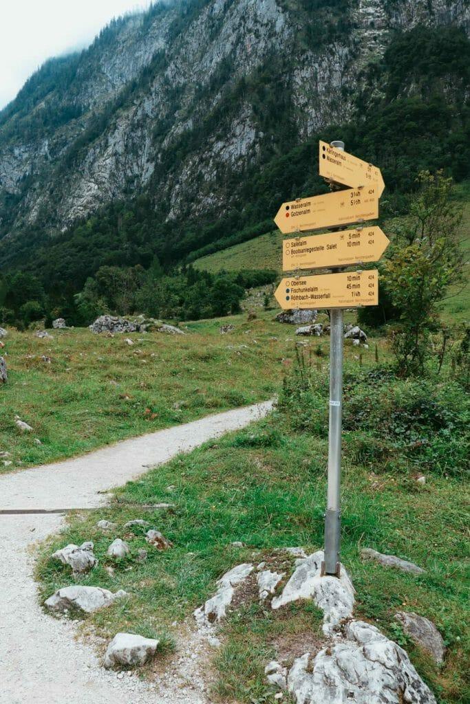 randonnée Parc National de Berchtesgaden