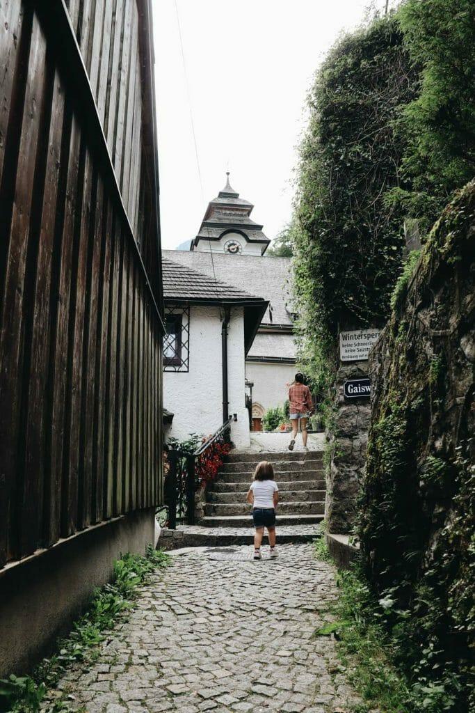 ruelle village d'Hallstatt