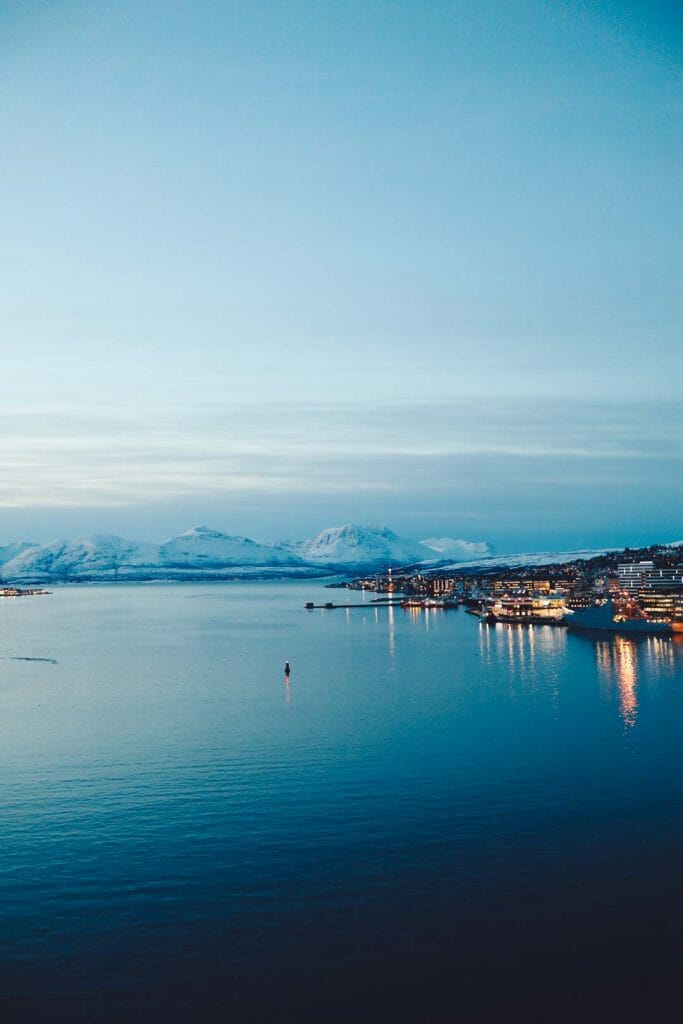 fjord tromso norvège