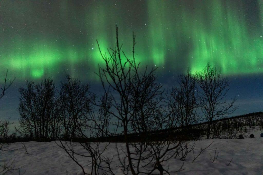 aurore boreale tromso
