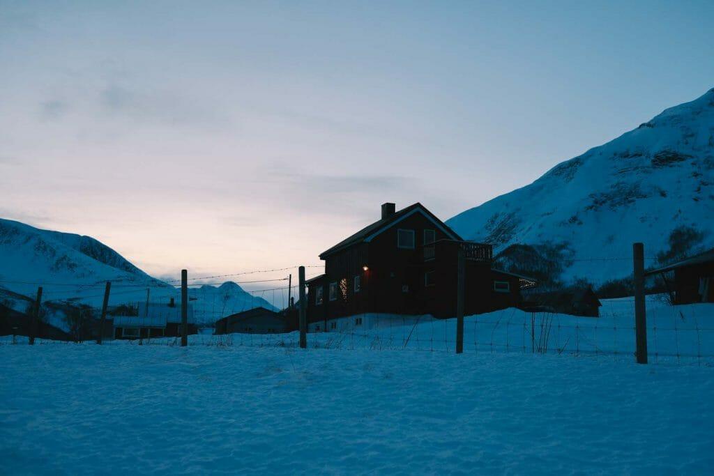 montagne nord norvège
