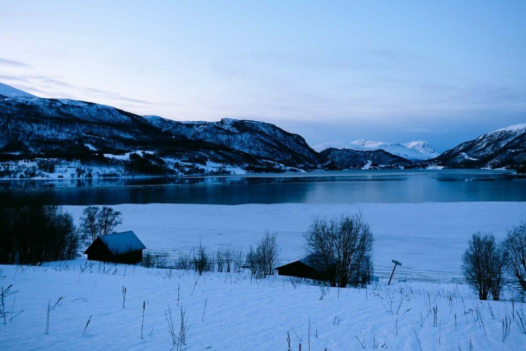 paysage nord norvège