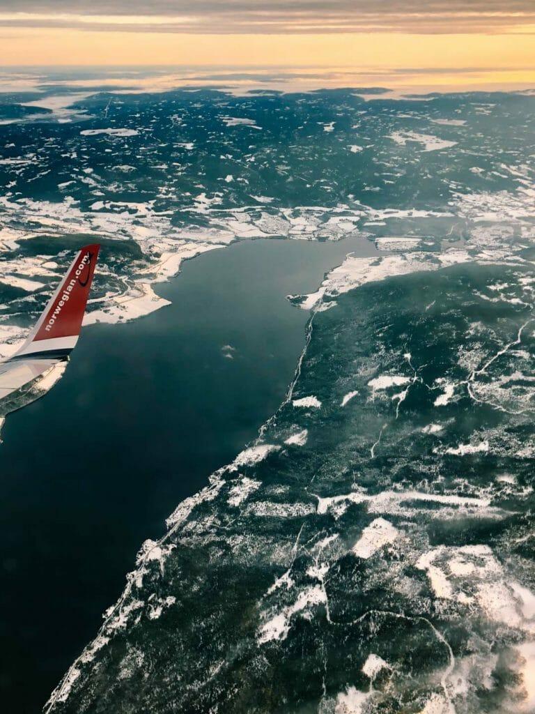 vue norvège hublot