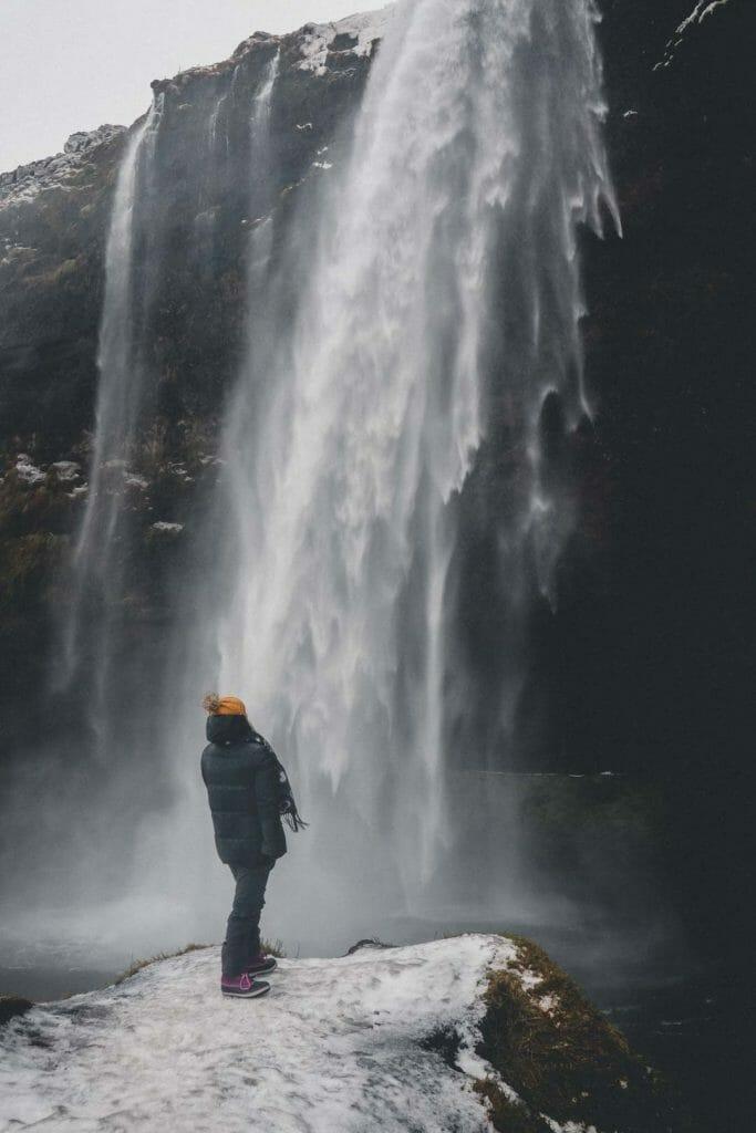 cascade Seljalandsfoss